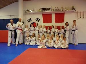 Ninja Pige graduering oktober 2015